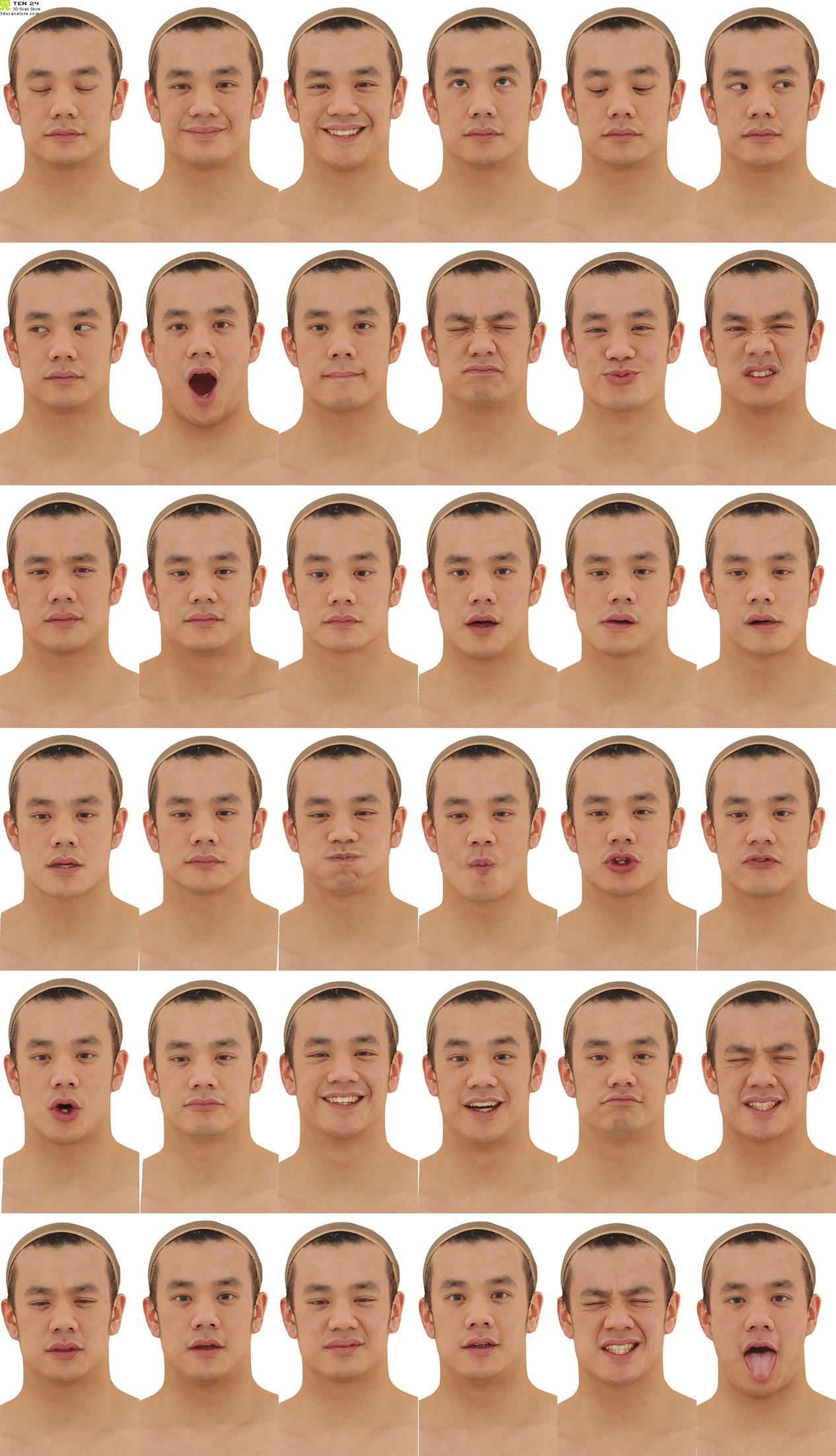 3d head scans ten24