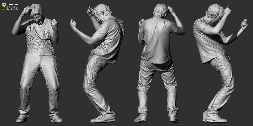 Full Body 3D Scanning using 80 x DSLR's – Ten24